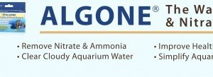 Clear cloudy aquarium water and remove nitrate with Algone