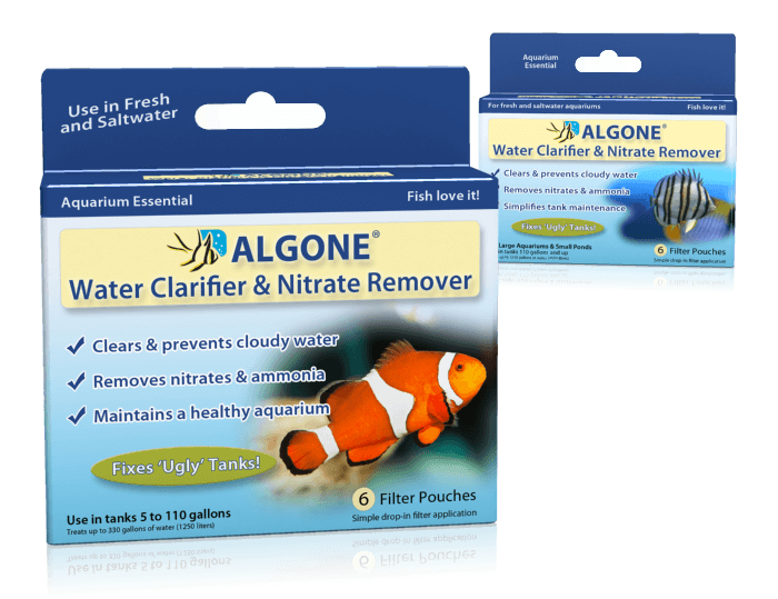 Aquarium nitrate removal nitrate remover algone for Cloudy water in fish tank solutions