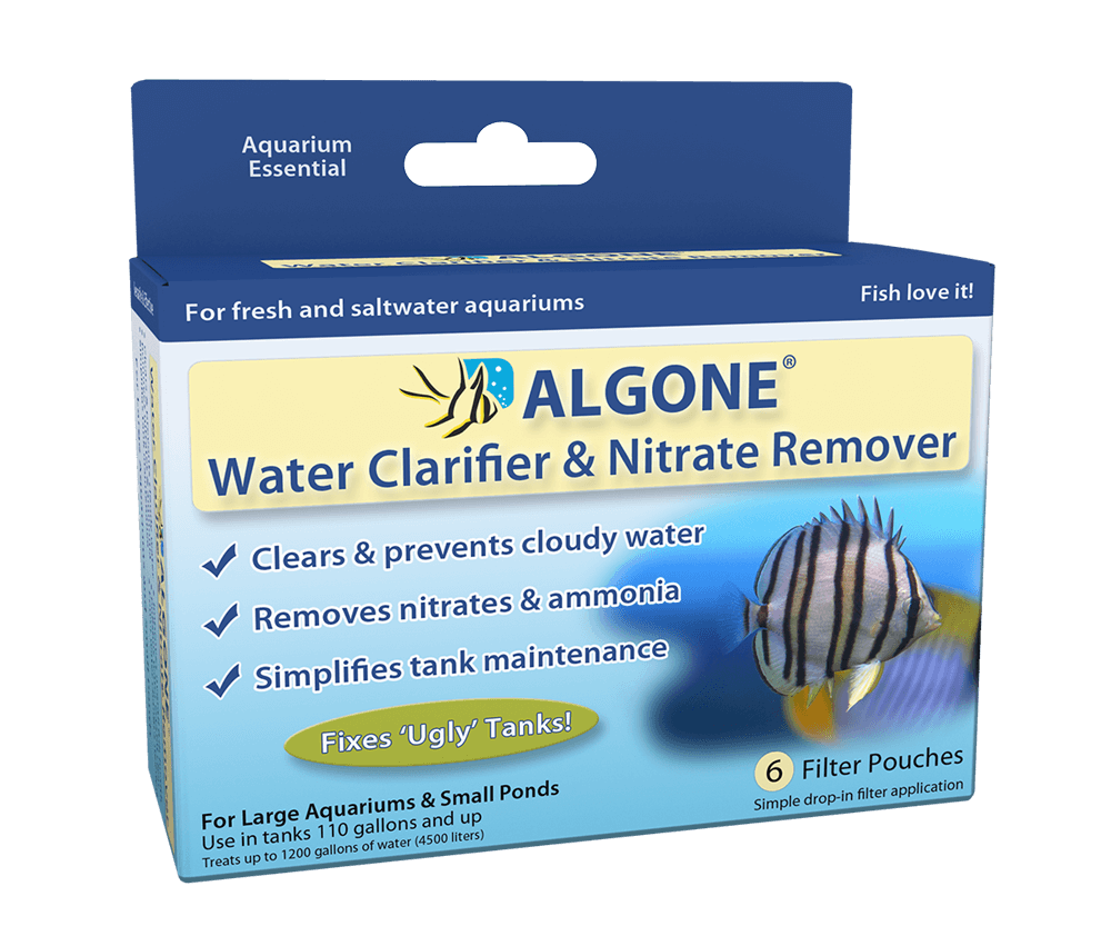 Aquarium Water Clarifier & Nitrate Remover